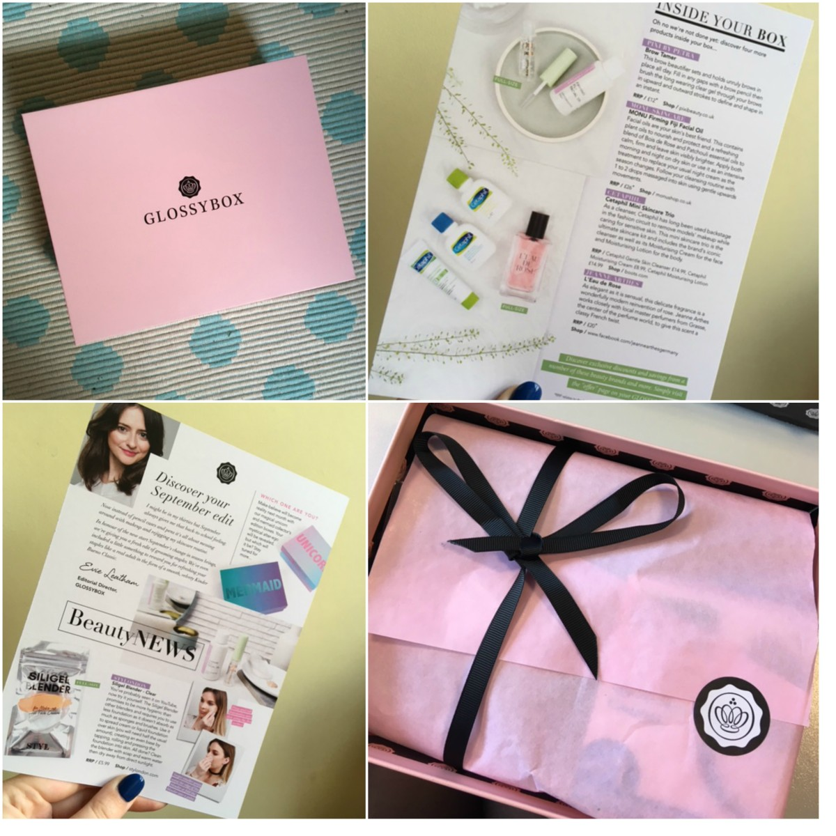 September Glossybox First Impressions